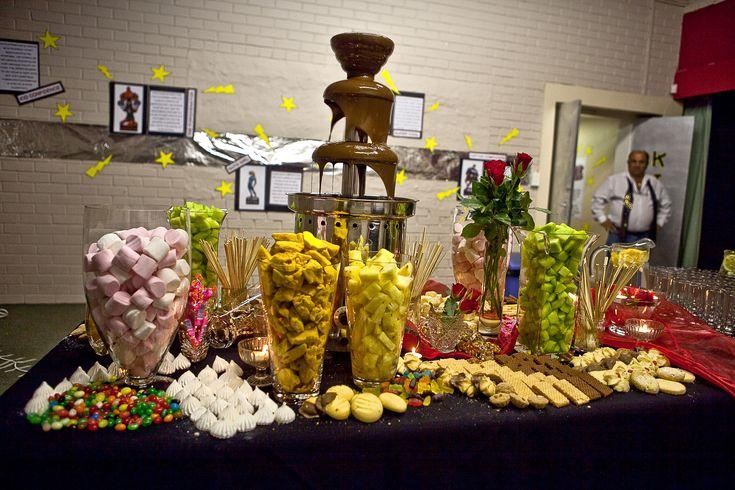 Matric dance themes th birthday chocolate fountains