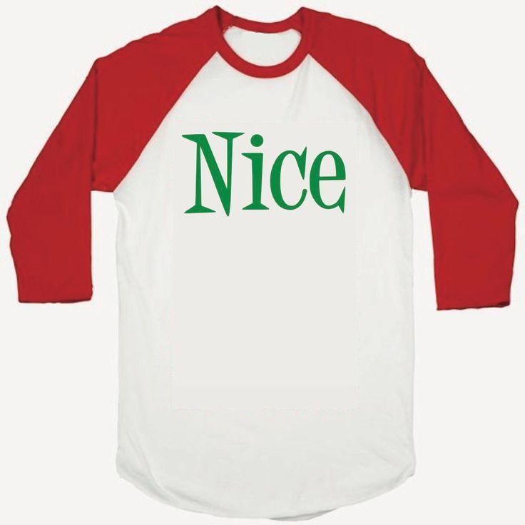 Boy Christmas Outfit, Toddler Christmas Shirt, Baby Christmas Outfit, Nice List, Kids Christmas Shirt, Christmas Clothes , Red and Green 001 #baby_boy_christmas #baby_christmas #boy_christmas