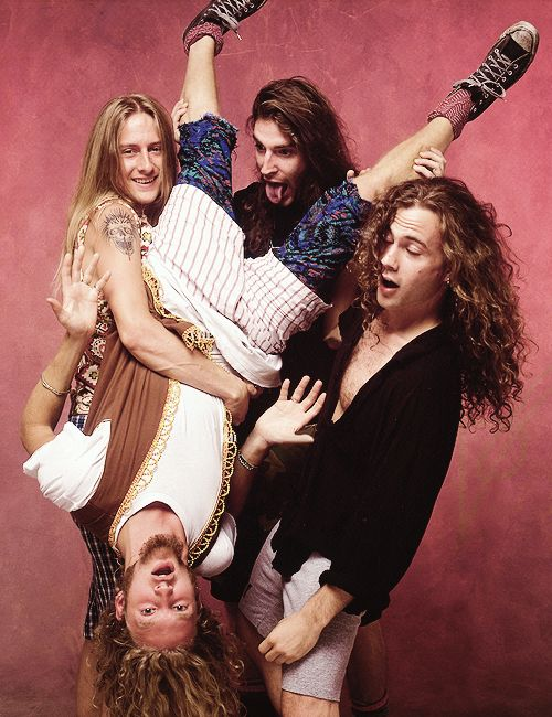 Alice in chains (w/Mike Starr RIP)