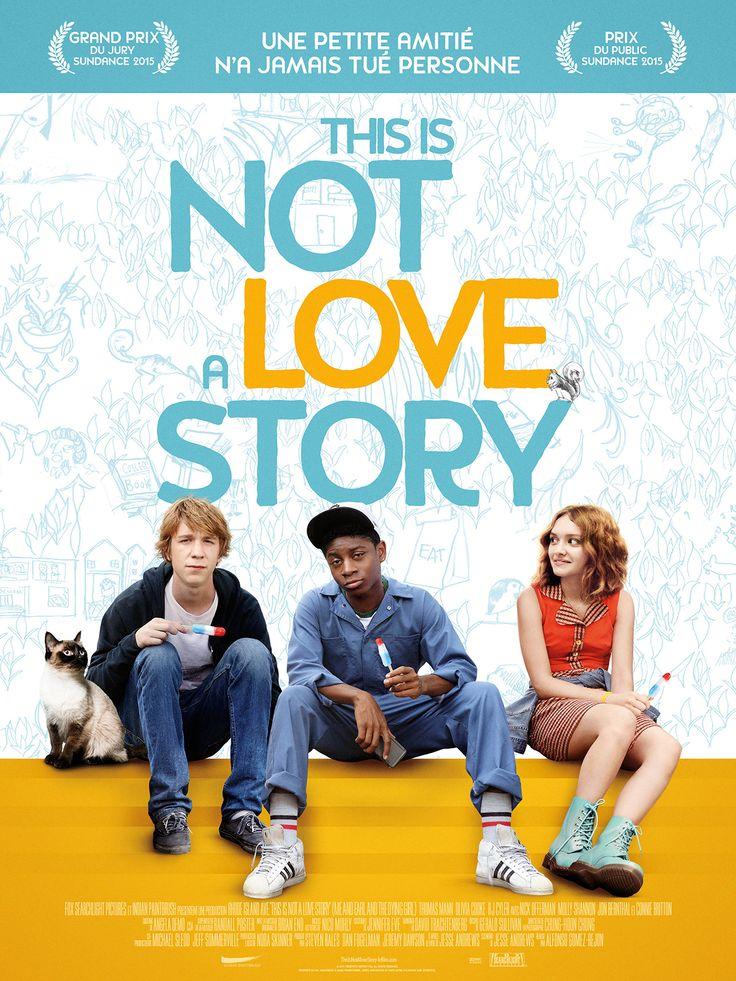This is not a love story est un film de Alfonso Gomez-Rejon avec Thomas Mann (II), Olivia Cooke. Synopsis : Greg est un lycéen introverti, adepte de l'autodérision, qui compte bien finir son année de Terminale le plus discrètement possible. Il passe la plupa