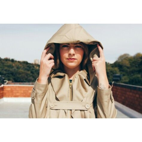 Beautiful trench coat by Bibi Rouge