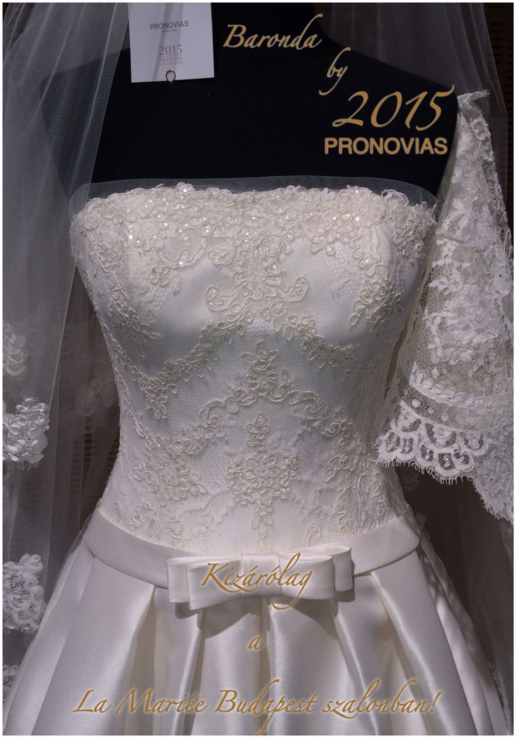 Baronda esküvői ruha - Pronovias 2015