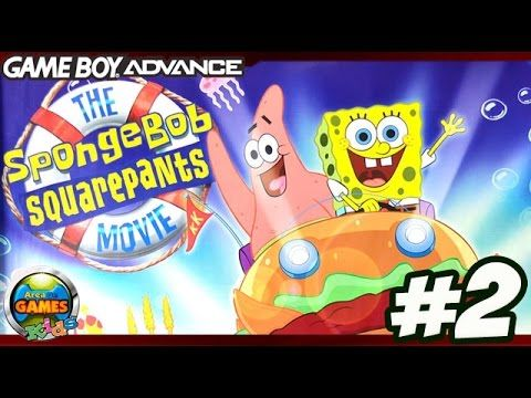 The SpongeBob SquarePants Movie (GBA) - Gameplay #2