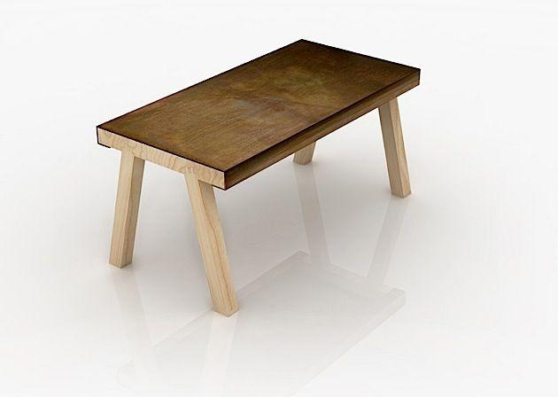 Ein Cleverer Tisch Von Gumdesign Dieser Tisch Nennt Sich Mastro