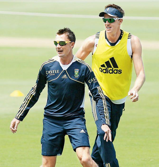Dale Steyn And Morne Morkel South africa's dale steyn