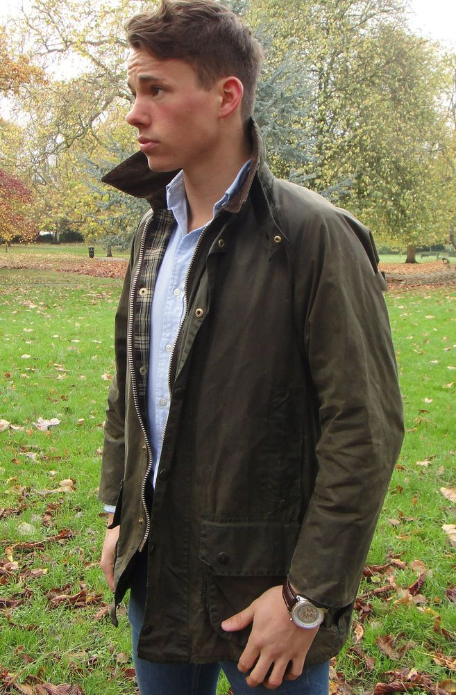 Barbour Beaufort Waxed Cotton Jacket