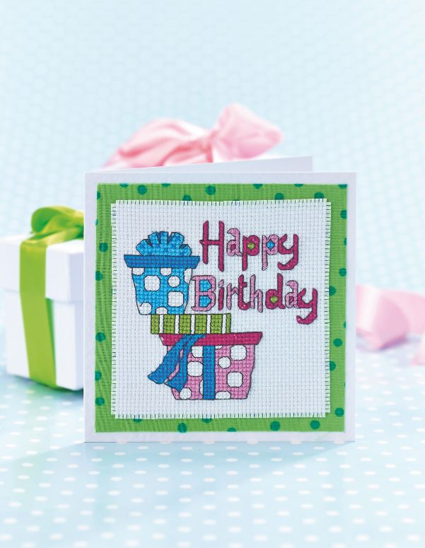 Birthday presents: Jenny Barton gets the party started with this bright birthday card on page 34. http://www.myfavouritemagazines.co.uk/stitch-craft/cross-stitch-collection-magazine-subscription/