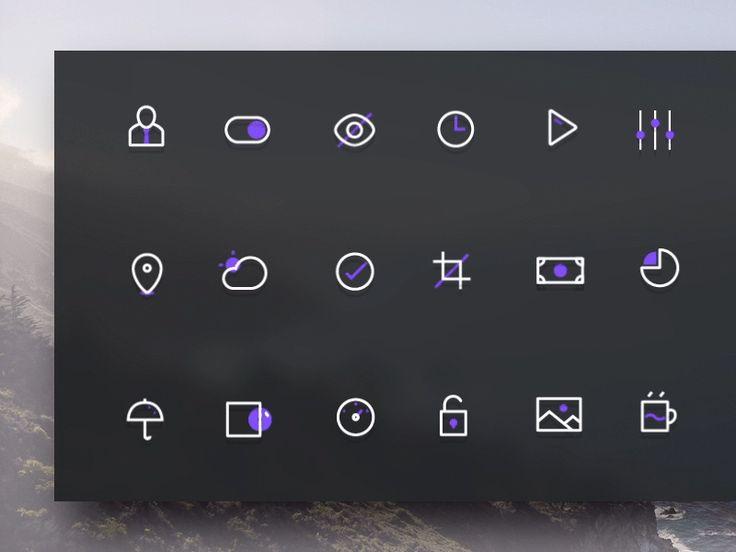 Vio Late (free icons) by buatoom for Buatoom