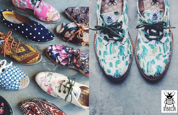 Insecta Shoes: sapatos veganos coloridos e brasileiros