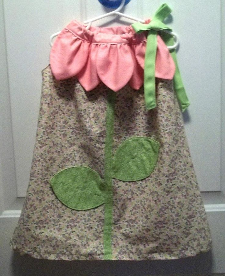 flower pillowcase dress. wish i had a girl little enough to make this for