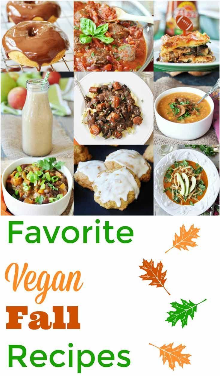 Some of the best vegan fall recipes from Veganosity. www.veganosity.com