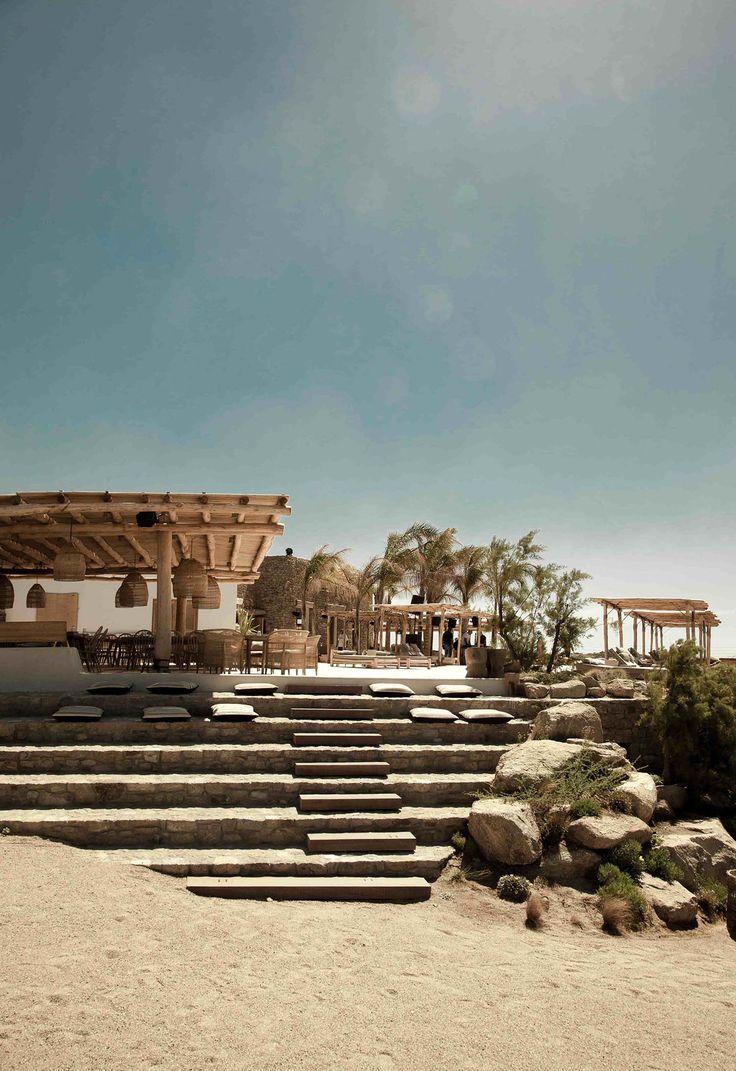 Entspannende Strandoase mit Boho-Atmosphäre: Scorpios Mykonos