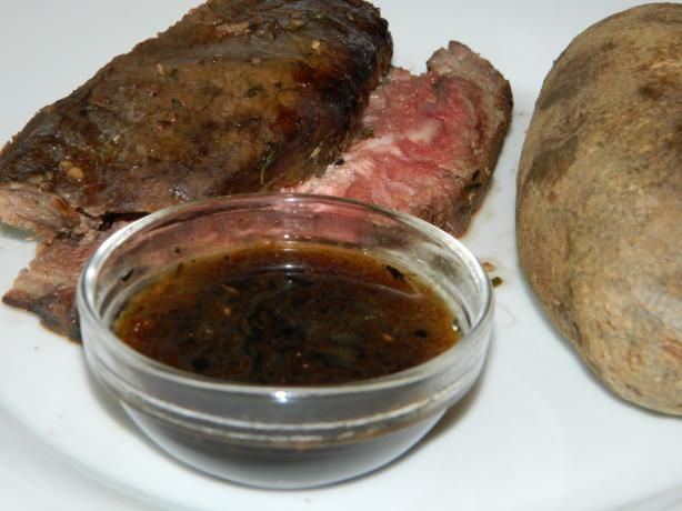 au jus sauce for our prime rib