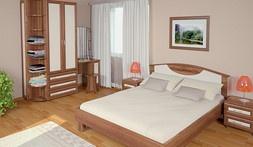 Модульная мебель для спальни Карина Люкс