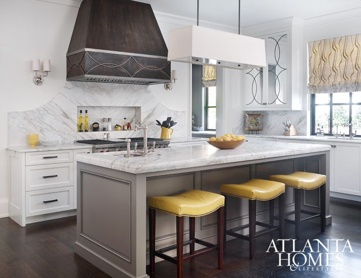 The Graceful Curves Accenting The Cabinetry By Block Chisel Are Repeated Throughout The Kitchen