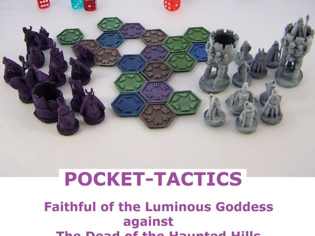 Pocket-Tactics: Faithful of the Luminous Goddess against the Dead of the Haunted Hills (Beta Version) by dutchmogul - Thingiverse