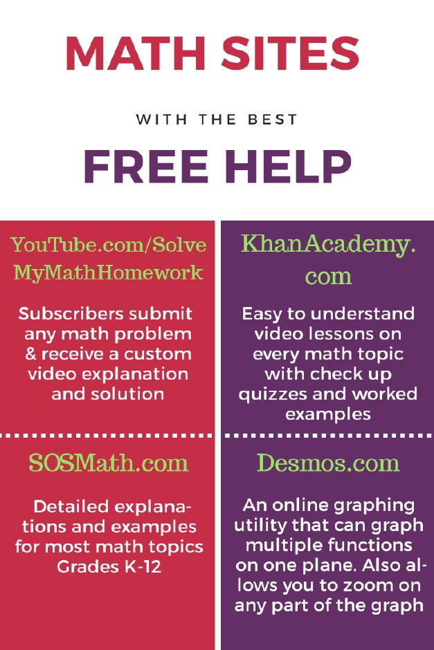 Help solving math homework