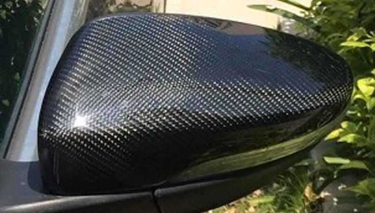 104.50$  Buy here - http://ali4tx.shopchina.info/1/go.php?t=32809348025 - Osmrk CARBON FIBER REAR SIDE REPLACE MIRROR COVER for VW passat b6 b7 r36 jetta cc scirocco beetle skoda  #buychinaproducts