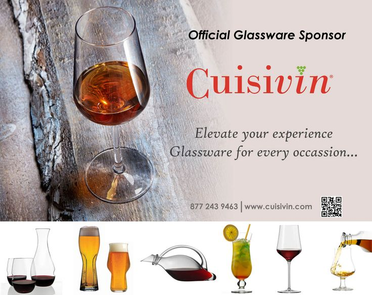 More Cuisivin is the Official Glassware Sponsor for the Cuvée 2017 event. Hosted by @CCOVIBrockU. Tickets: http://bit.ly/1E4jIk3  #VQA #Cuvee