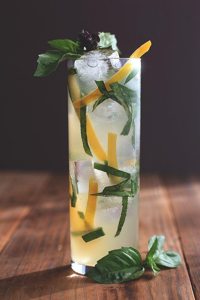 Thai basil cocktail.