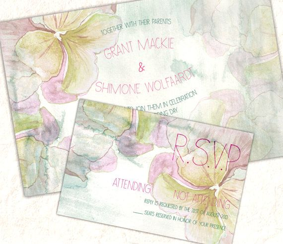 Printable Autumn Colours Floral Watercolour by SixDaysCreations