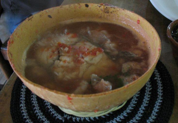 Caldo de Piedra, Oaxacan stone soup