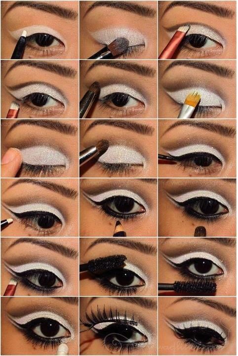 Wonderful Black and White Makeup