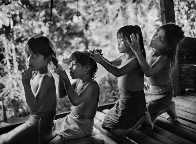 Mentawai, Indonesia, 2008, by Sebastião Salgado