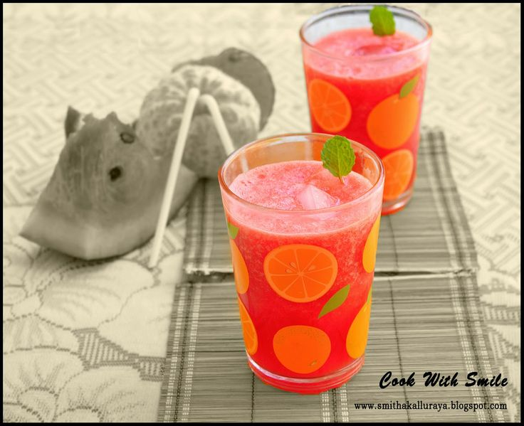 WATERMELON n ORANGE JUICE, WATERMELON REFRESHER