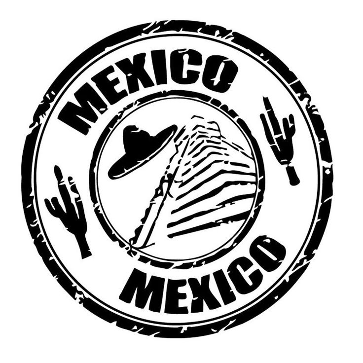 Mexico Country Wall Vinyl Art