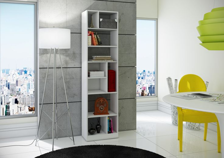 Manhattan Comfort Valenca Bookcase 4.0