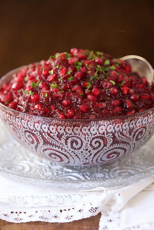 Super Easy, Crazy Delicious Cranberry Pomegranate Sauce   The Café Sucre Farine