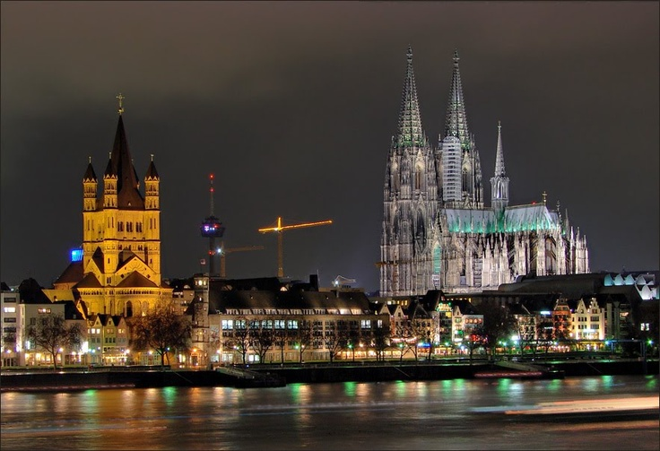 Cologne Cathedral. It's an amazing sight.