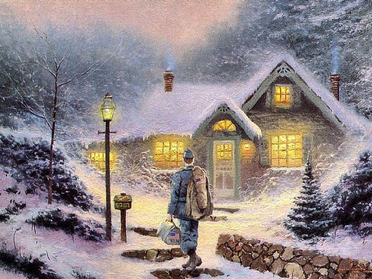 598 best Thomas kincade paintings images on Pinterest