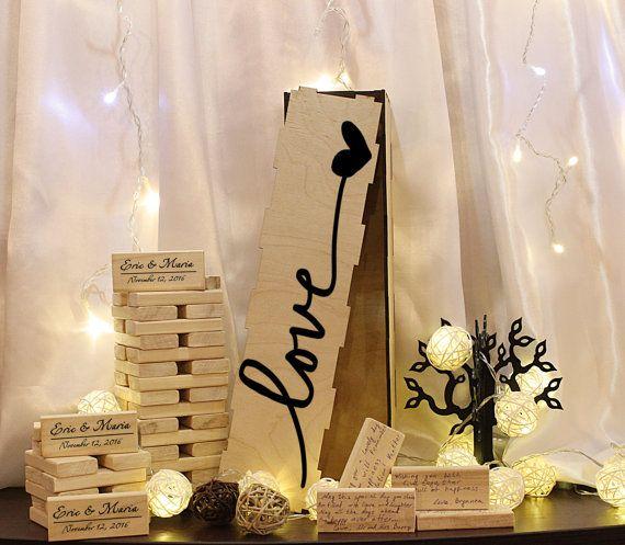 Wedding Guest Book Wedding Guest Book by BeautifulWeddingShop