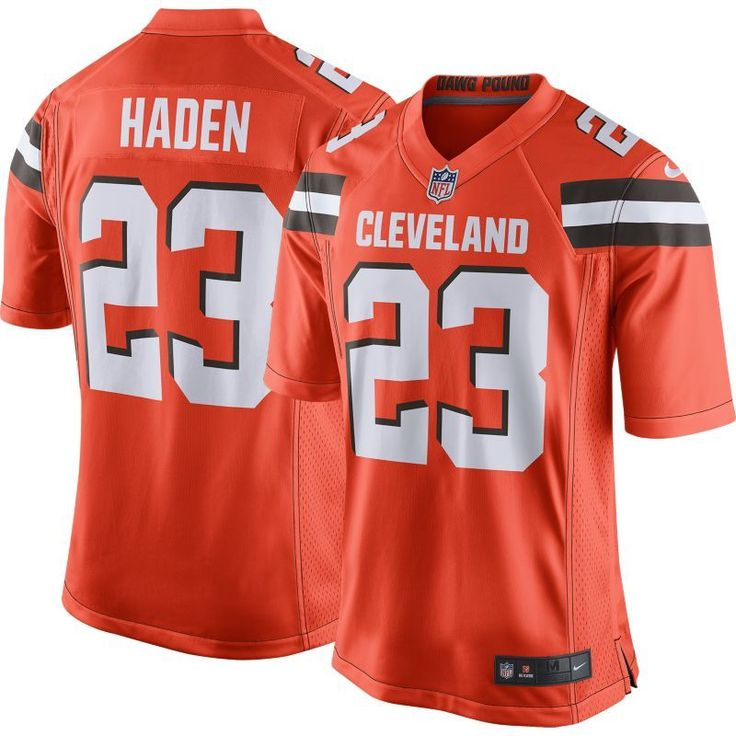 Nike Men's Alternate Game Jersey Cleveland Joe Haden #23, Size: Medium, Team