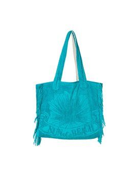 SUN OF A BEACH Aqua Blue Towelling Large Beach Bag. Shop online: http://www.tilltwelve.com/en/eur/product/1089487/SUN-of-a-BEACH-Aqua-Blue-Towelling-Large-Beach-Bag/