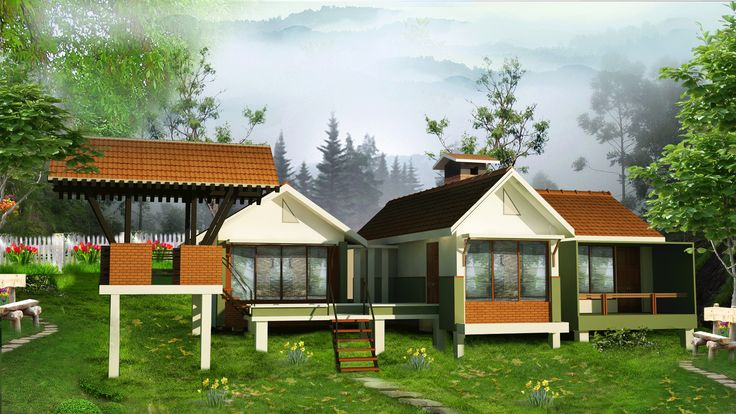 BROOK DALE VILLA 2 BHK COST (MINIMUM 10 CENT LAND & VILLA) Rs. 47,45,000/-