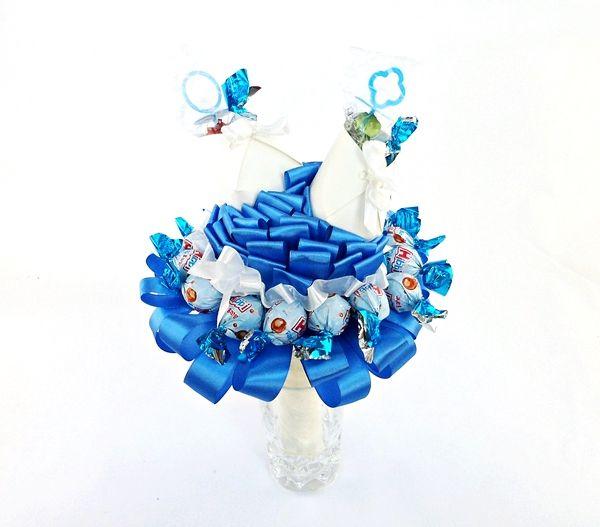 Bukiet z Cukierków Buciki na Narodziny, Chrzest