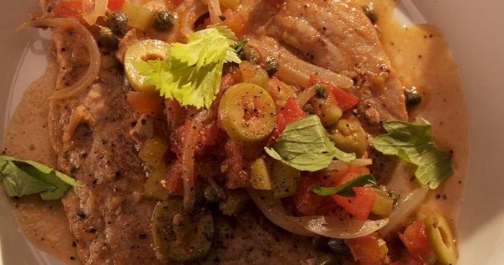 Découvrez cette recette de Thon alla stimpirata pour 4 personnes, vous adorerez!