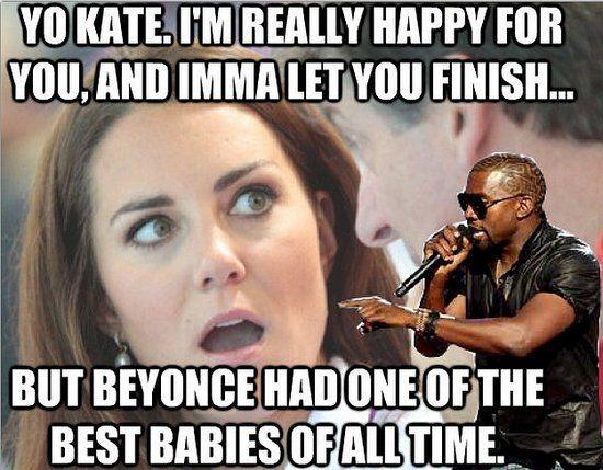 Kanye's memorable VMAs moment took a royal twist