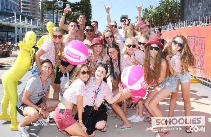 Schoolies 2016 enjoying the celebrations. Gold Coast does it so well every year. www.longweekendz.com