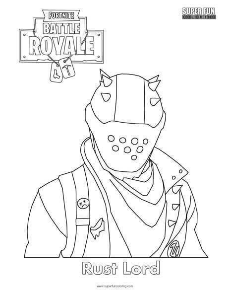 Fortnite Coloring Pages Free | Children Coloring ...
