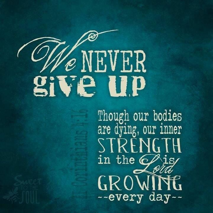 Bible Quotes Never Give Up: 202 Best Images About 2 Corinthians