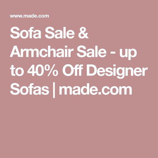 Sofa Sale & Armchair Sale - up to 40% Off Designer Sofas | made.com