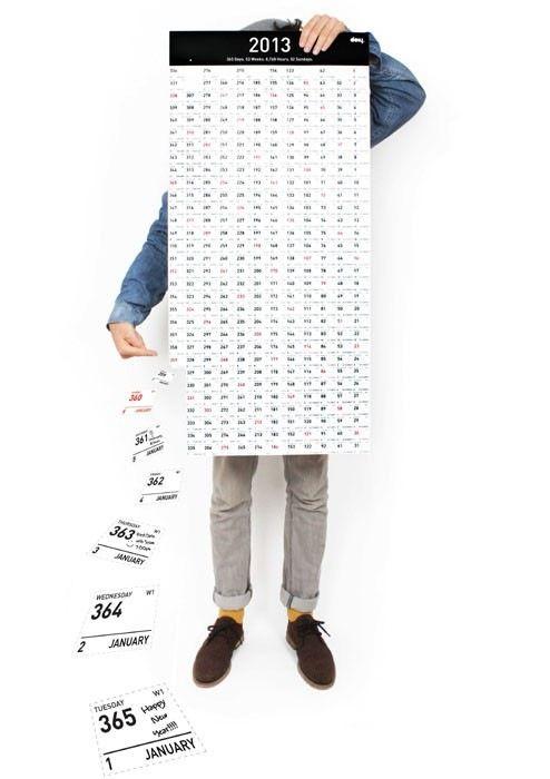 讓你hold住時間的2013年日曆   ㄇㄞˋ點子靈感創意誌
