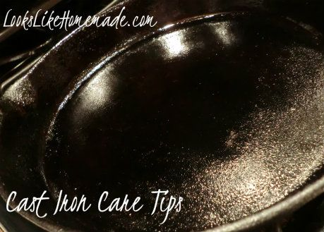 Cast Iron Care and Rescue Tips: Iron Skillet