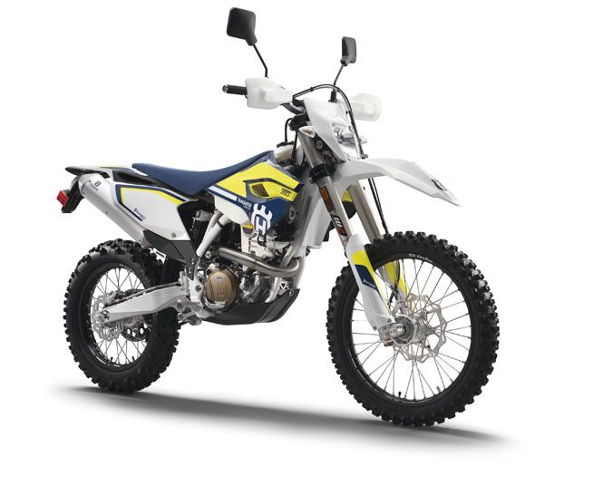 Husqvarna's extremely capable FE 350 S and FE 501 S return with the same updates as its 2016 four-stroke off-road machines.
