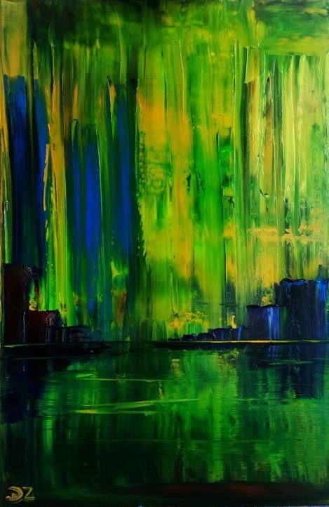 Swamp, 60 x 50 cm oil on canvas by Daria Zaseda