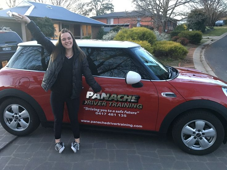 We would like to say congratulations to Ebony for passing her comp 22 (driving test) in our  F56 Mini Cooper, Great work see you on the Defensive driving course. :) http://www.panachedrivertraining.com/advanced-defensive-driving-course.html